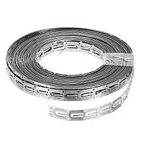 Монтажная лента для крепления кабеля, шаг 2,0 см, бухта 10 м (теплый пол)