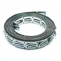 Монтажная лента для крепления кабеля, шаг 2,5 см, бухта 10 м (теплый пол)