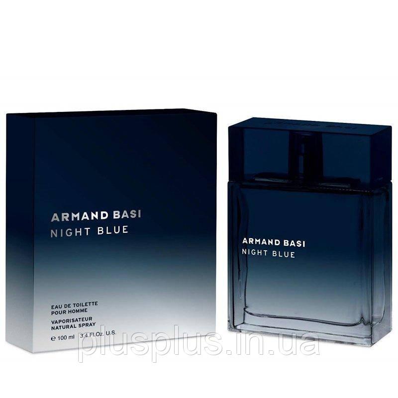 Туалетная вода Armand Basi Night Blue для мужчин  - edt 100 ml