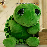"Плюшева черепашка - ""Черепаха"" - 35 см, фото 1"