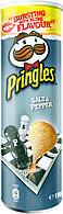Чипсы морская соль и черный перец  Pringles sea salt and black pepper 165г
