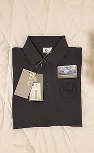 Мужская рубашка-поло BMW Logo Polo Shirt, Men, Dark Blue