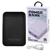 Зарядные устройства Power Bank, внешний аккумулятор JS-169 UNIVERSAL 10000mAh 2USB(1A+2A), индикатор заряда, фото 1