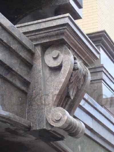 Изготовление замкового камня на чпу из газобетона