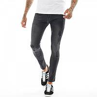 Джинсы 883 Police Brady Skinny Black Faded Black - Оригинал