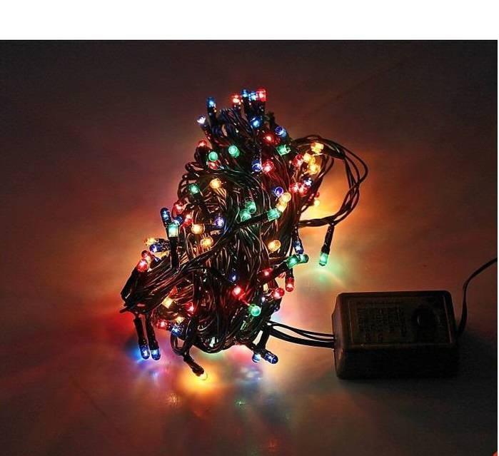 Электрическая гирлянда 100 лампочек мультик, фото 1