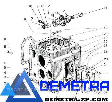 Корпус коробки передач КПП МТЗ. 50-1701025А