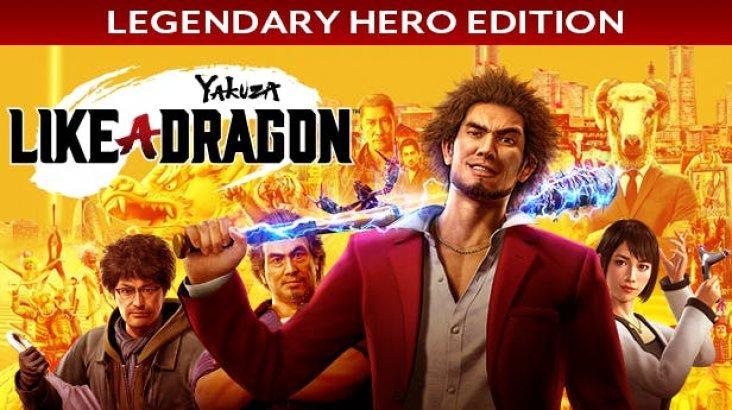 Yakuza: Like a Dragon - Legendary Hero Edition ключ активации ПК