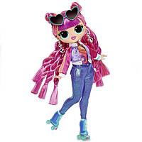 Кукла ЛОЛ ОМГ Диско Скейтер 3 серия L.O.L. Surprise! O.M.G. Roller Chick