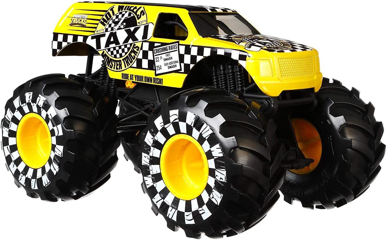 Машина Хот Вилс Монстер Трак Такси Hot Wheels Monster Truck