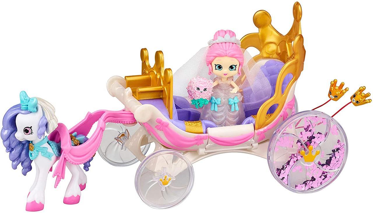 Набор Шопкинс Королевская свадебная карета с пони Shopkins Happy Places