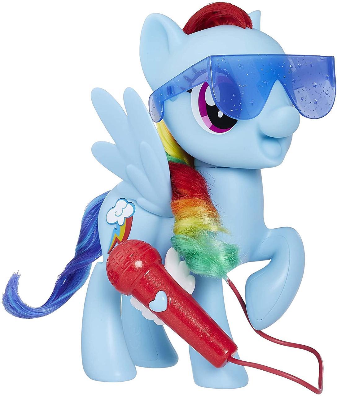 Май лител пони поющая Радуга Дэш My Little Pony Singing Rainbow Dash
