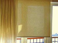 Рулонные шторы из естественных тканей ШИКАТАН в Украине производство под заказ