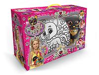 """Творчество """"Раскраска - сумка антистресс """"Royal Pets"""" с игрушкой ДАНКО - ТОЙС"""