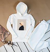 Костюм женский спортивный (худи + штаны). Модный женский костюм спортивный (штаны + худи).