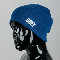Вязаная молодежная шапка OBEY (mini)