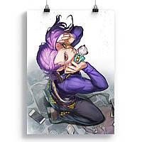 Плакат Неймовірна пригода ДжоДжо   JoJo's Bizarre Adventure 53