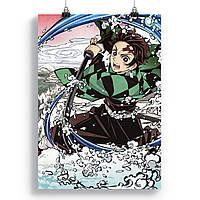 Плакат Клинок, розсікає демонів | Kimetsu no Yaiba 30