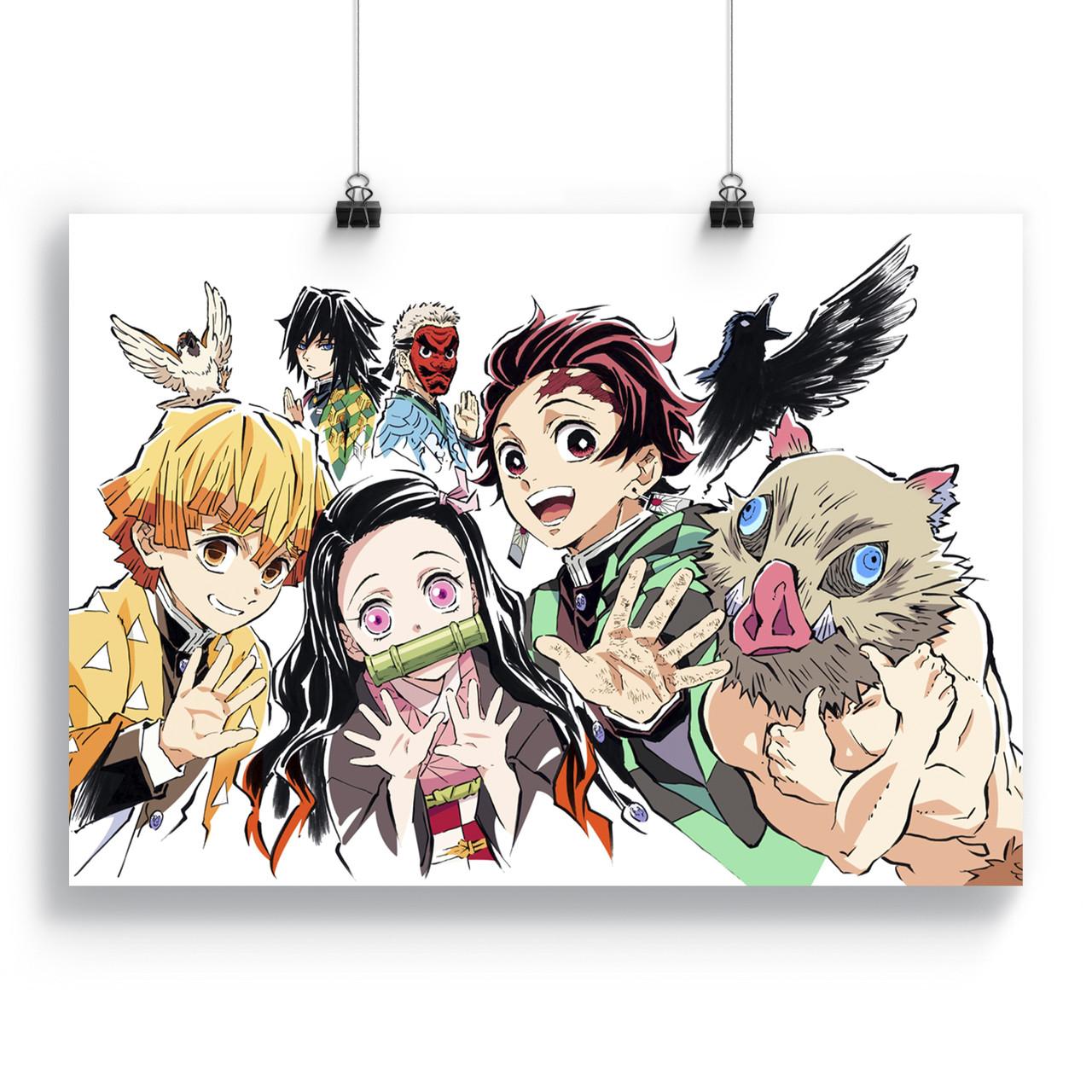 Купить Плакат Клинок, рассекающий демонов | Kimetsu no ...