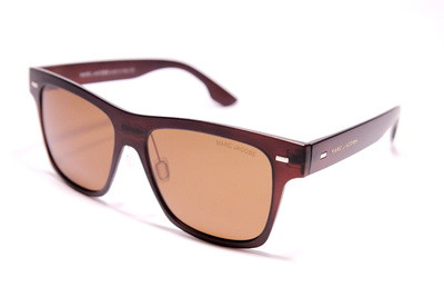 Очки солнечные поляризационные в коричневом матовом пластике, с удобными коричневыми стёклами, унисекс