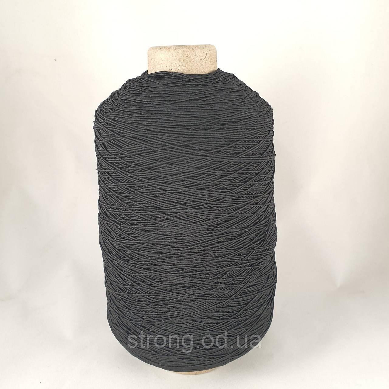 Нитка Резинка 400 грам. Черная