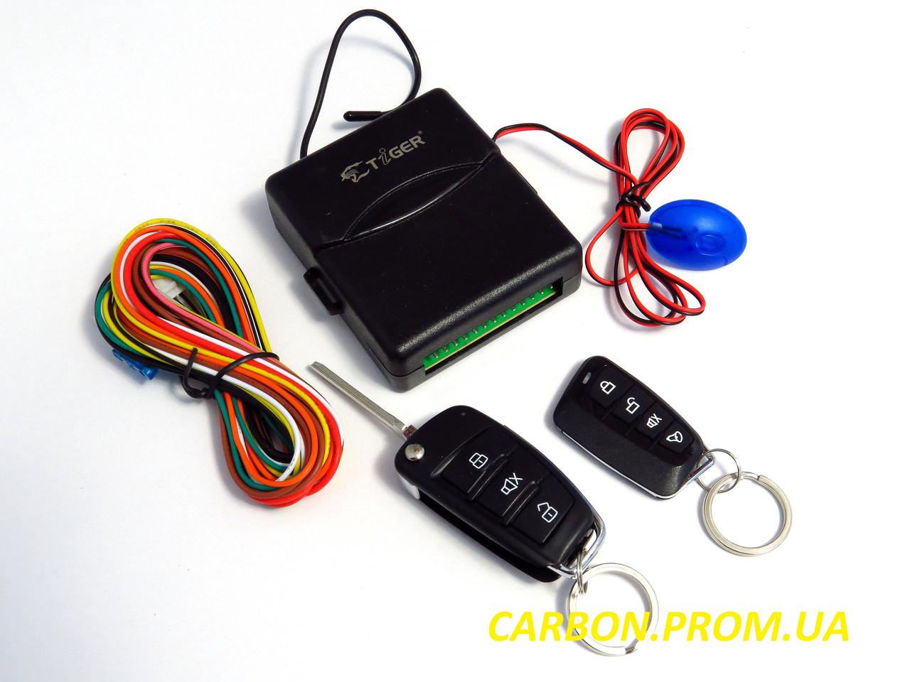 Интерфейс управления центральными замками Tiger K13А с визуальной имитацией сигнализации