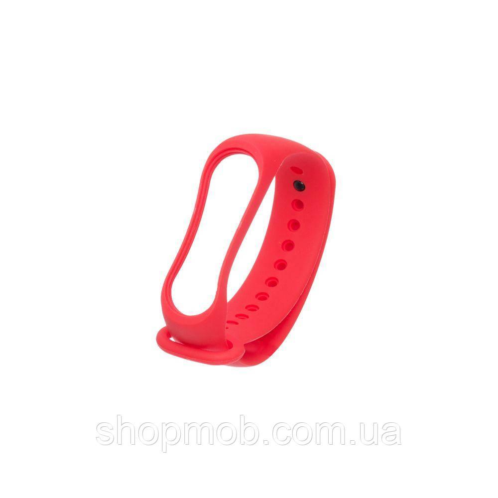 Ремешок для Xiaomi Mi Band 3 Original Design Цвет Красный