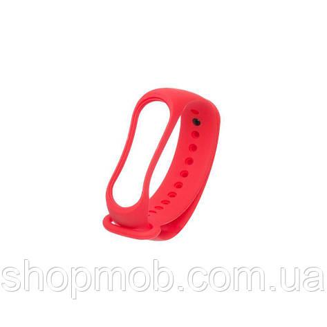 Ремешок для Xiaomi Mi Band 3 Original Design Цвет Красный, фото 2