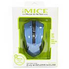 Мышь компьютерная iMICE E-2310 беспроводная Blue (3222-9662), фото 7