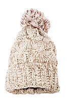 Шапка женская 257V001-3 цвет Песочно-бежевый