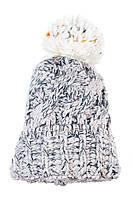 Шапка женская 257V001-1 цвет Серо-сизый