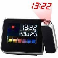 Часы метеостанция проектор времени  8190