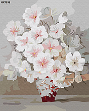 Картина по номерам. «Весеннее цветение» УЦЕНКА!