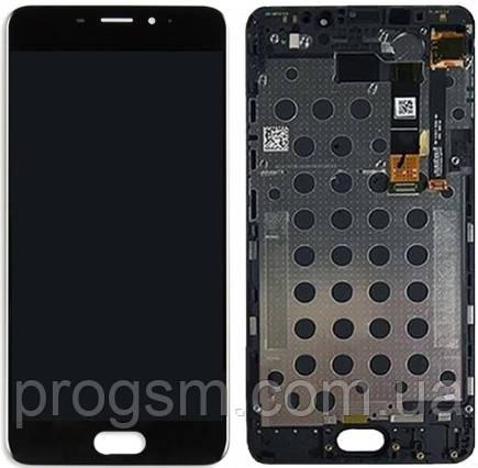 Дисплей Meizu M3e Original 100% (Service Pack) with frame Black