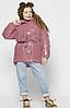 Лакова зимова куртка, на ріст від 110 до 158 см