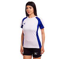 Форма волейбольная женская Футболка и шорты Mizuno Success Replica Белый-черный (CO-6481-W) S-M (42-44)