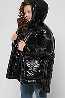 Зимова куртка лакова, на ріст від 110 до 158 см