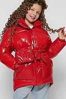 Зимова куртка на пуху, на ріст від 110 до 158 см