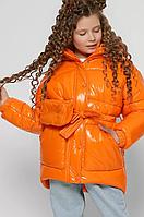 Куртка зимова на пуху для дівчаток, на ріст від 110 до 158 см
