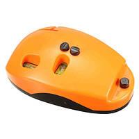 Уровень лазерный SINCON SL-501 5 МВт мини мышка уголок нивелир угольник построитель линий Kromatech Mini Mouse