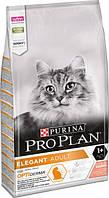 Сухой корм для кошек Pro Plan Elegant (Derma Plus) Salmon & Rice 10 кг