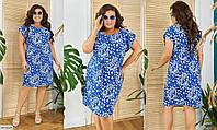Платье женское летнее большие размеры Г05213, фото 1