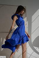Платье женское летнее нарядное с 42 по 58 р. Г05118, фото 1