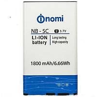 Батарея (акб, аккумулятор) NB-5C для Nomi i182, 1800 mah, оригинал