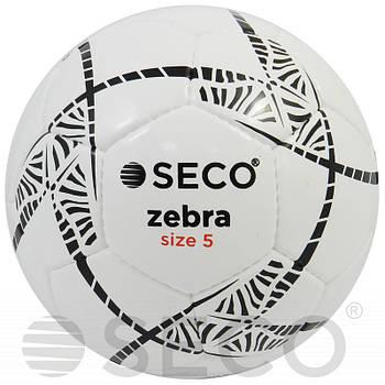 М'яч футбольний SECO Zebra