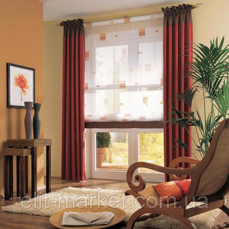 комнатные рулонные шторы