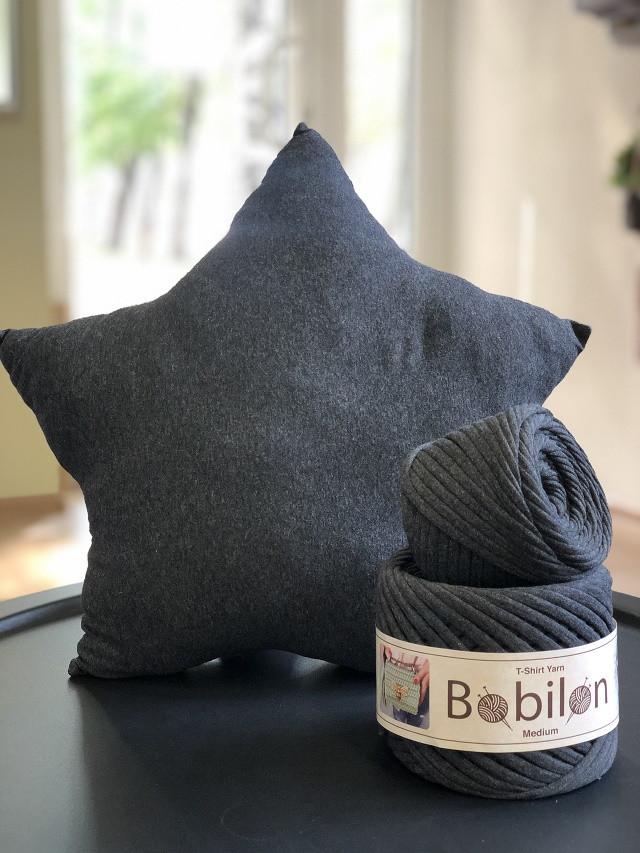 Набор для вязания подушки Звезда. Цвет Сумерки