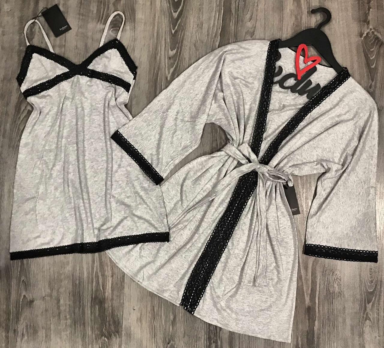 Одяг для дому Халат і Пеньюар з мереживом. Нова колекція.