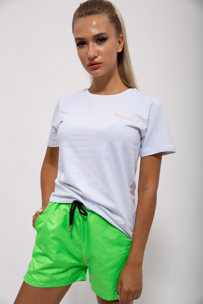 Костюм женский 103R2008 цвет Бело-салатовый