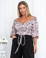 Блуза женская молодежная с 42 по 54 р. Г0320, фото 1